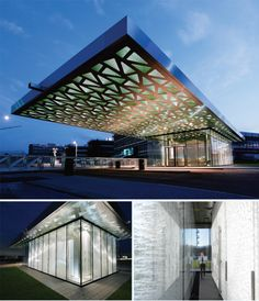 Trumpf Gatehouse Ditzingen, Germany Barkow Leibinger Architects with Werner Sobek