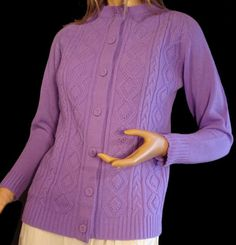 Vintage 50s Cardigan Sweater Button Down by susiesboutiquecloths, $21.00