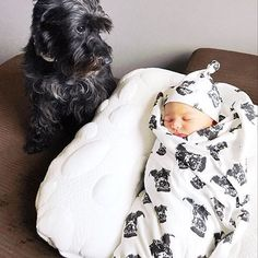 Welcome to the world little Alice Nessa! So much love from cousin Luxi (baby blanket and hat is with Luxi print 😍)! Congrats and thank you for this cuteness ladies I love it! Personalised Gifts, Schnauzers, So Much Love, Cousins, Baby Car Seats, Alice, Hat, Blanket, Children