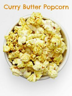 Give your #Oscar party a kick by adding curry to your popcorn.