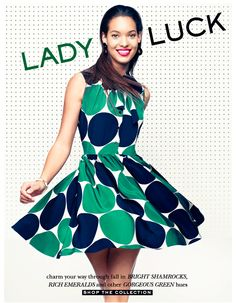 lady luck at Kate Spade. shop the collection.