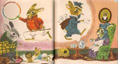 """The Bunny Book A Little Golden Book"" by Patsy Scarry,  Illustrated by Richard Scarry, 1955 (https://www.etsy.com/listing/152523651/vintage-kids-book-the-bunny-book-a?ref=related-0)"