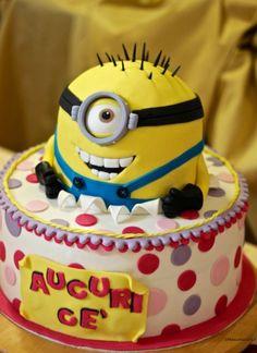 minion cake | Torta Minion