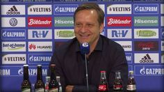 """Humor hat er!  Horst Heldt auf die Frage, wie er sich anstelle von Schalke von Horst Heldt verabschieden würde:  """"Hau endlich ab!"""""""