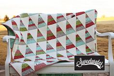 """New quilt kit using """"Holly's Tree Farm"""" by Sweetwater for Moda."""