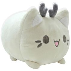 Tasty Peach Studios has announced a new Reindeer Meowchi variant has gone up for pre-order today! The Cream Reindeer will be the last colorway of this plush and once pre-orders have ended the desig… Kawaii Plush, Cute Plush, Kawaii Cute, Tasty Peach Studios, Peppermint Candy Cane, Ideal Toys, Cute Stuffed Animals, Cute Pillows, Small Cat