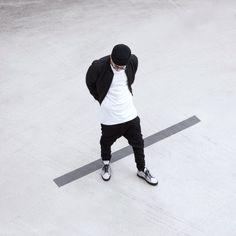 http://chicerman.com  bangarangblog:  black & white  #streetstyleformen