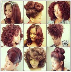 Versatility of natural hair