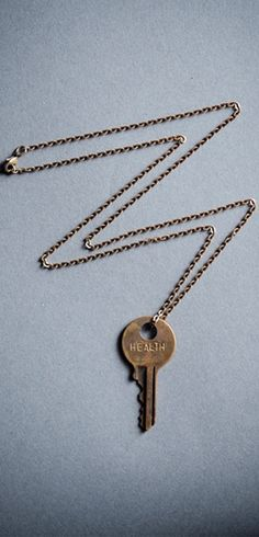 Ask yourself if you've ever taken your health for granted. This necklace will remind you of how precious life is...and how you helped save a dying baby's life. Give Health Here ► http://www.sevenly.org/?cid=PINTERESTdale