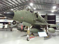 RNZAF A4K Skyhawk NZ6204 at Ashburton Aviation Museum NZ