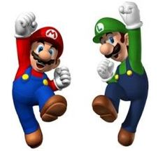 Today we played Mario & Luigi New Super Mario Bros, Super Mario Art, Super Mario Brothers, Free Mario Games, Video Game Bedroom, Mario Y Luigi, Mario Party, Game Character, Birthday