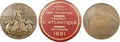 L'Atlantique 1931, Francia