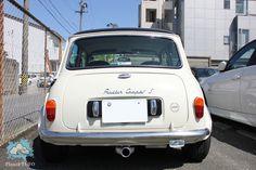 back classic mini cooper -