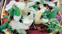 Pizza prosciutto e ruggola: Prosciutto and argula pizza recipe