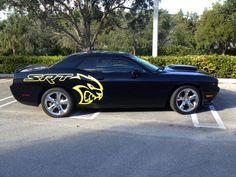 2015 Dodge Challenger Hellcat Logo Side Body Decal | eBay