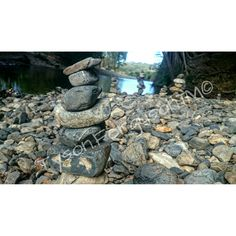 Stone Towers in Nature #Outdoors #Nature #Building #StoneTowers