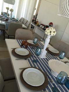 Mesa para os Pais...em azul