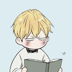 Manga Anime, Fanarts Anime, Manhwa Manga, Anime Chibi, Manga Art, Bl Comics, Anime Comics, Hello Kitty Iphone Wallpaper, Bl Webtoon
