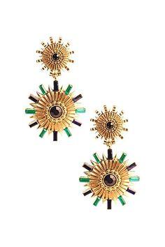Sundial Spike Earrings $24