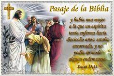 Vidas Santas: Santo Evangelio según san Lucas 13:11