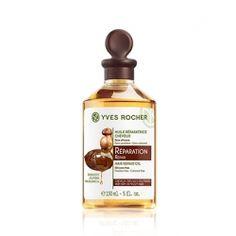 Bezoplachová péče Yves Rocher Regenerační olej na poškozené vlasy