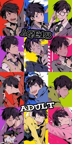 ♡oh my jesus Anime Siblings, Osomatsu San Doujinshi, Boy Face, Another Anime, Ichimatsu, The Villain, Anime Demon, Yandere, Anime Love