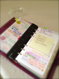 (read 03/28/13 - amazing pictures - she literally takes you through the entire filofax and all that she has in there - ThT)
