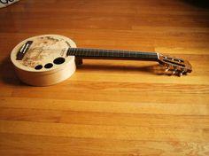 """Abbaye Cistercienne"" Cheese-Box Classical Acoustic Guitar"