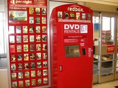 Redbox is a form of a DVD rental. They are found outside or inside your local grocery store, strip mall, pharmacies, convenient stores, and fast food restaurants. The rental boxes that are located outside are available all the time. Redbox allows customers to rent movies from the Redbox and also return them to the RedBox. This is a new form of technology and new media that allows customers to rent movies.