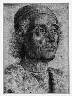 Andrea Mantegna (1431-1506) - Portrait of a Man