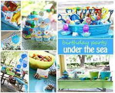 Under the Sea Boys Birthday Party