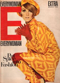 1960s fashion - Every Woman magazine cover. Everything, please!!