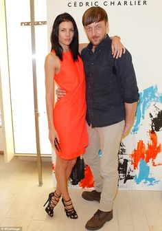 Natural beauty Liberty Ross shows just why she is worthy of supermodel status as she strikes a pose in orange dress Liberty Ross, People News, Fashion Designer, Orange Dress, Strike A Pose, New York, Supermodels, Poses, Celebrity
