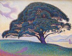Paul Signac's The Bonaventure Pine / Museum of Fine Arts Houston