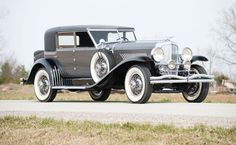 1929 Duesenberg Model J Sport Sedan - (Duesenberg Automobile & Motors Company, Inc. Auburn, Indiana,1913-1937)