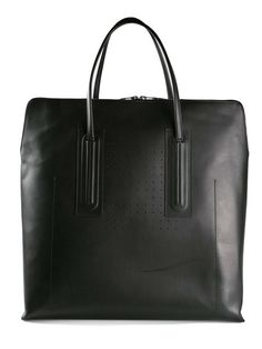 Rick Owens / Large Leather Black Tote