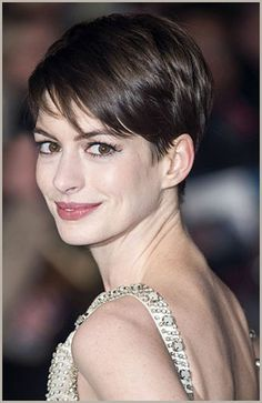 Anne Hathaway Pixie Hair Trend 2013