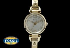 Another stunning watch from #Fossil. #BeGlamWithGold #Watch