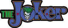 Licenses Products DC Comics Batman Joker Logo Sticker -- Additional info @