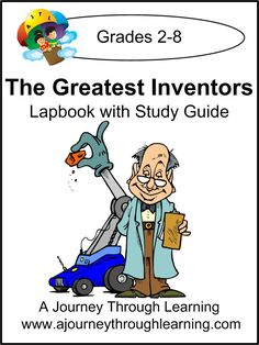 Greatest Inventors Lapbook with Study Guide-8.00