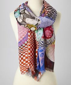 Love this Pink Psychedellic Scarf by Trisha Tyler on #zulily! #zulilyfinds