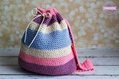 Aubrie's Crochet Big Kid Backpack   Back to School Series