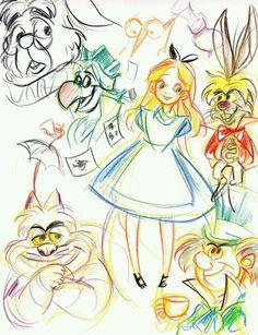 Esboço de Alice