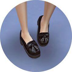 Tassel Platform Heels at Marigold • Sims 4 Updates