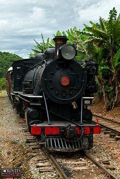 Trem da Serra da Mantiqueira - Passa Quatro/MG
