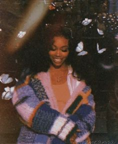 Sza at Saturday night live Boujee Aesthetic, Black Girl Aesthetic, Aesthetic Collage, Aesthetic Photo, Aesthetic Pictures, Bedroom Wall Collage, Photo Wall Collage, Picture Wall, Beautiful Black Women
