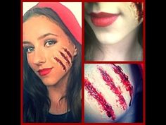 Little Red Riding Hood - YouTube Spooky but nicely done. | Make-up ...
