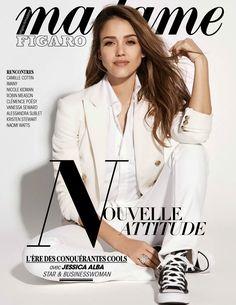 #Medokifashionnews : Jessica Alba Cover Girl Madame Figaro March 2017 ISSUE !  #AbdelDoudouMedokiBelgianFashionBlogger #Fashioninfluencer #JessicaAlbaCoverGirlMadameFigaroMarch2017Issue