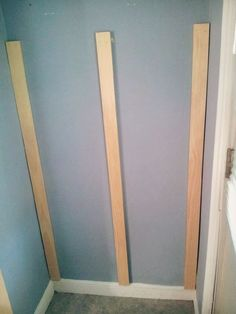 Why nailing 3 boards into your wall is the cleverest (& simplest) update