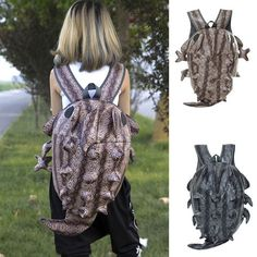 Chameleon Backpack School bag Male Monsters Backpack Harajuku Lizard Travel Bags Free Shipping  Item Type: BackpacksBackpacks Type: SoftbackCarrying System: Arcuate Should...   https://nemb.ly/p/4kLeJ0MOb Happily published via Nembol